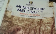 EURORDIS Membership meeting 2015 MADRID 28 - 30.5.2015